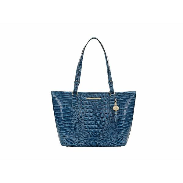 ブランミン レディース ハンドバッグ バッグ Melbourne Medium Asher Bag Bluebonnet