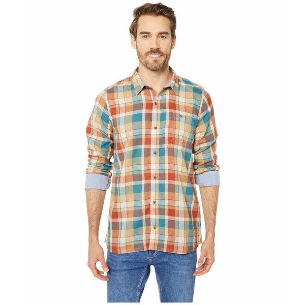 ドード アンドコー メンズ シャツ トップス Debug Peak Season Long Sleeve Shirt Hydro
