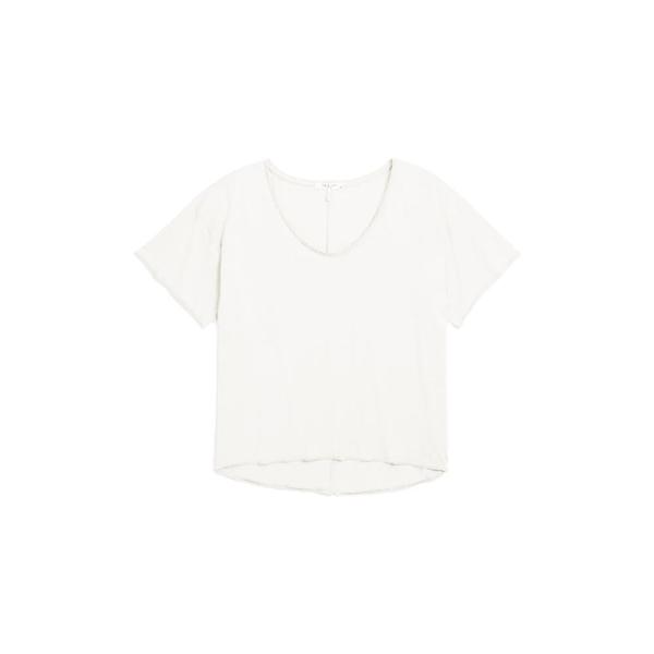 ラグアンドボーン レディース Tシャツ トップス The Gaia Organic Pima Cotton T-Shirt White