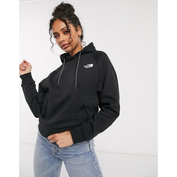 ノースフェイス レディース パーカー・スウェットシャツ アウター The North Face Nse graphic hoodie in black Black