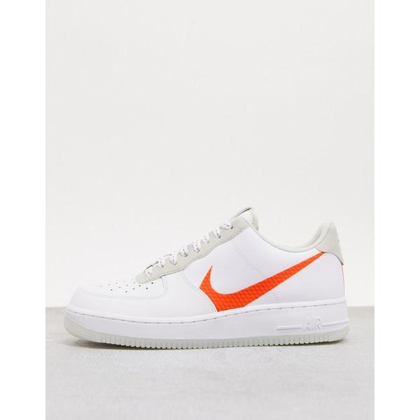 ナイキ メンズ スニーカー シューズ Nike Air Force 1 '07 LV8 3SP20 sneakers in white White