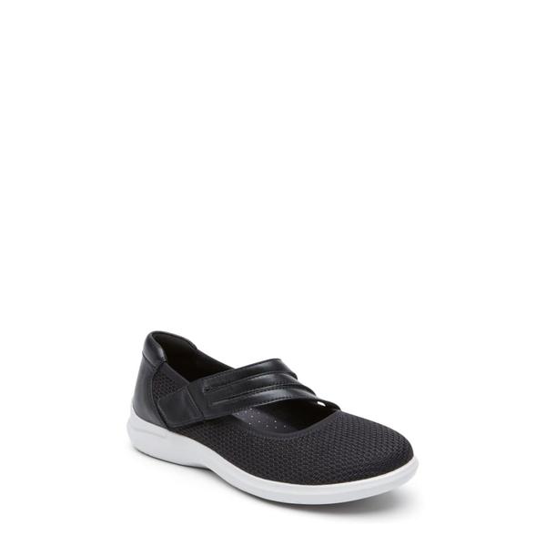 アラヴォン レディース スニーカー シューズ PC Mary Jane Sneaker Black Fabric