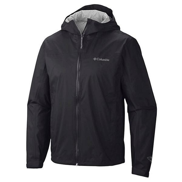 コロンビア メンズ ジャケット&ブルゾン アウター Columbia Men's EvaPOURation Jacket Black