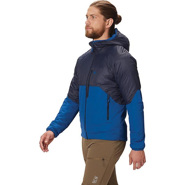マウンテンハードウェア メンズ ジャケット&ブルゾン アウター Mountain Hardwear Men's Compressor Hoody Dark Zinc