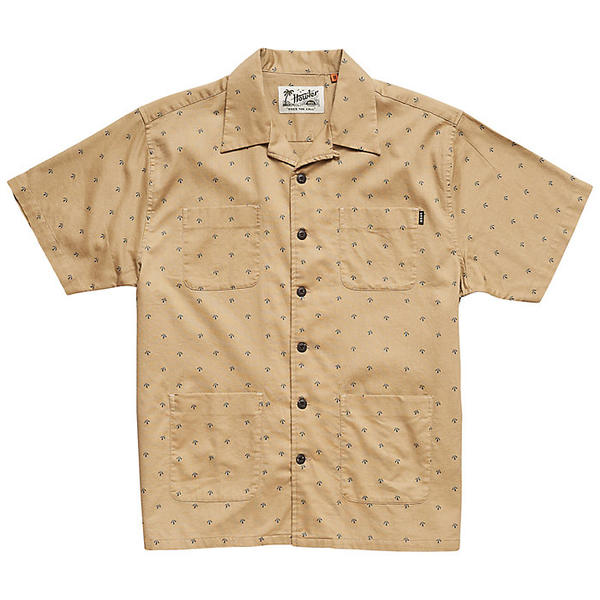 ハウラーブラザーズ メンズ シャツ トップス Howler Brothers Men's Sunset Scout Shirt Arrowhead Print Dress Khaki