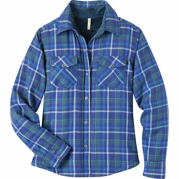 マウンテンカーキス レディース シャツ トップス Mountain Khakis Women's Christi Fleece Lined Shirt Starry Night