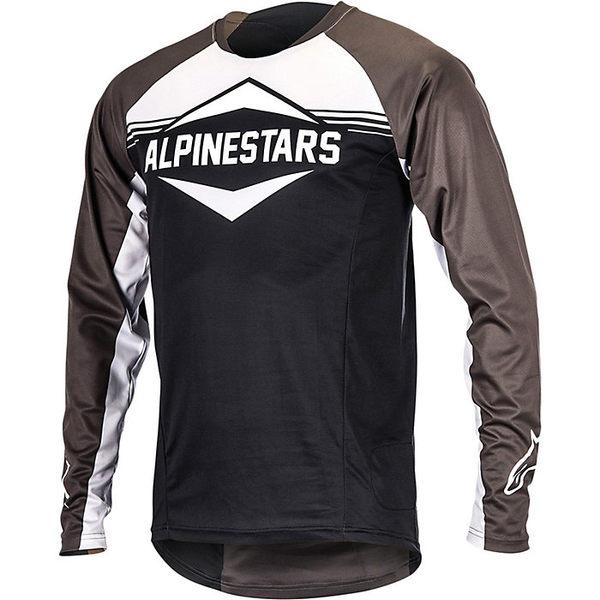 アルパインスターズ メンズ サイクリング スポーツ Alpine Stars Men's Mesa LS Jersey Black / Dark Shadow