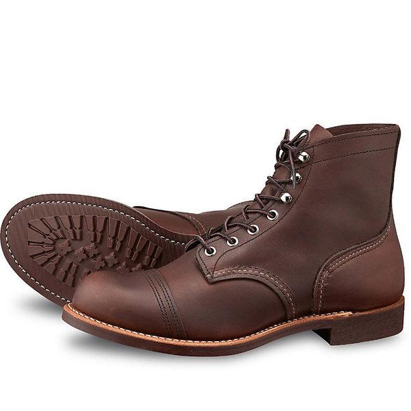 レッドウィング メンズ ブーツ&レインブーツ シューズ Red Wing Heritage Men's 8111 6-Inch Iron Ranger Boot Amber Harness