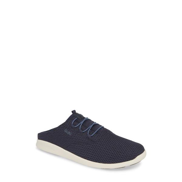 オルカイ メンズ スニーカー シューズ Alapa Li Sneaker Trench Blue