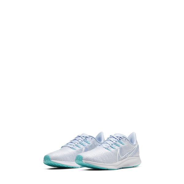 ナイキ レディース スニーカー シューズ Air Zoom Pegasus 36 Premium Running Shoe Football Grey/ White/ Blue