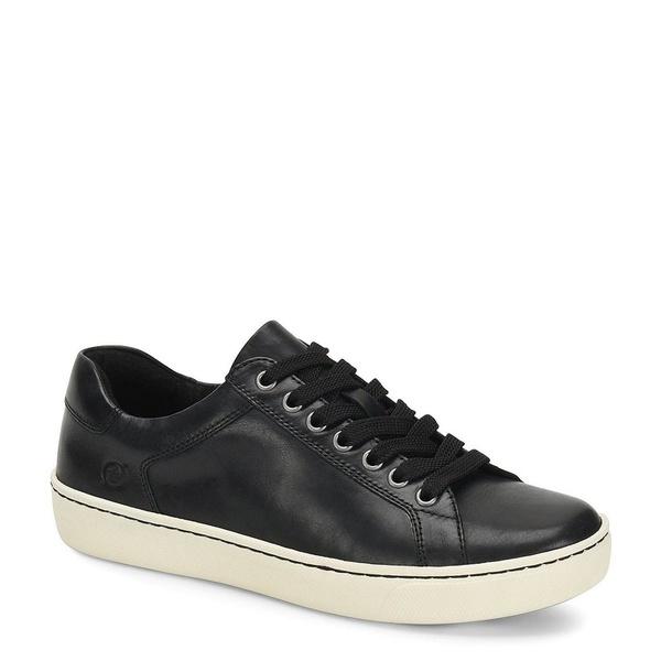 ボーン レディース スニーカー シューズ Sur Leather Lace Up Sneakers Black
