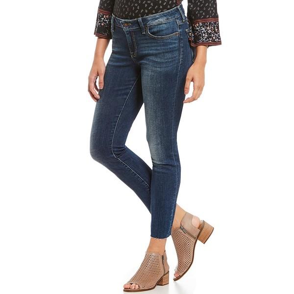 ラッキーブランド レディース デニムパンツ ボトムス Lolita Mid Rise Raw Hem Skinny Jeans Lake Bridgeport