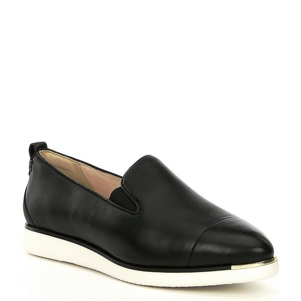 コールハーン レディース サンダル シューズ Grand Ambition Leather Slip Ons Black