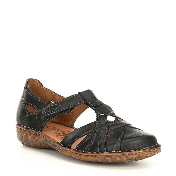 ジョセフセイベル レディース サンダル シューズ Rosalie 29 Leather Slip Ons Black