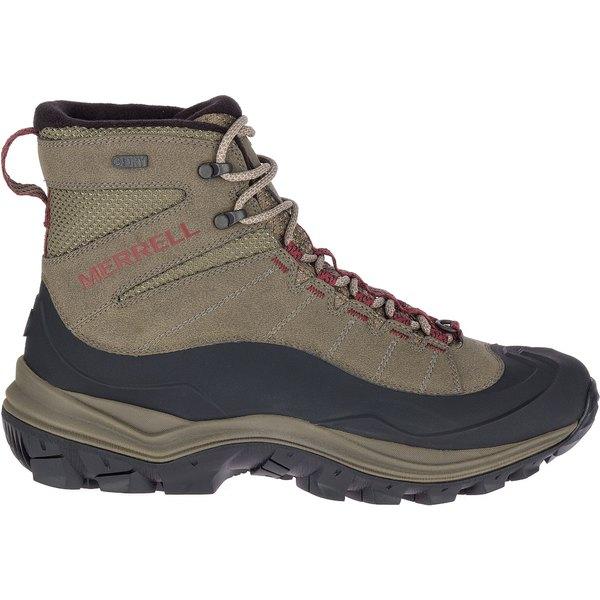 メレル メンズ ブーツ&レインブーツ シューズ Merrell Men's Thermo Chill Mid Shell 200g Waterproof Hiking Boots Boulder