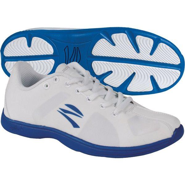 ゼフス レディース スニーカー シューズ zephz Women's Stratoscheer Cheerleading Shoes White/Blue