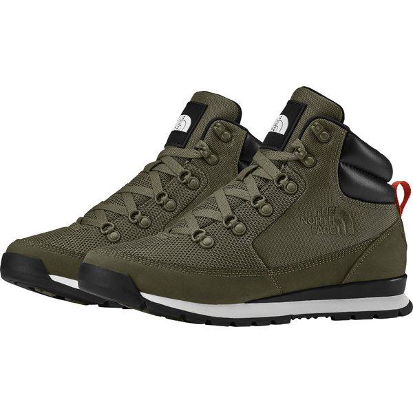 ノースフェイス メンズ スニーカー シューズ The North Face Men's Back-to-Berkley Redux Mesh Hiking Boots NewTaupeGreen/TnfBlack
