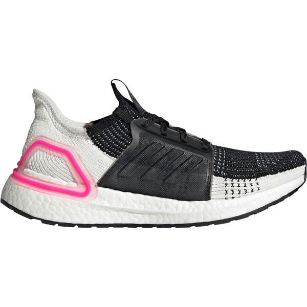 アディダス レディース ランニング スポーツ adidas Women's Ultraboost 19 Running Shoes Black/White/Pink