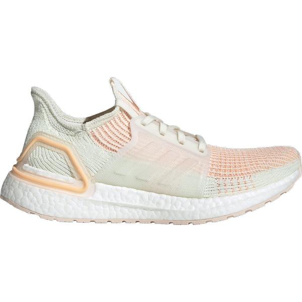 アディダス レディース ランニング スポーツ adidas Women's Ultraboost 19 Running Shoes White/Orange/Pink