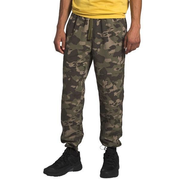 ノースフェイス メンズ カジュアルパンツ ボトムス The North Face Men's Class V 30'' Pants BrntOlvGrnPndrsaPrnt