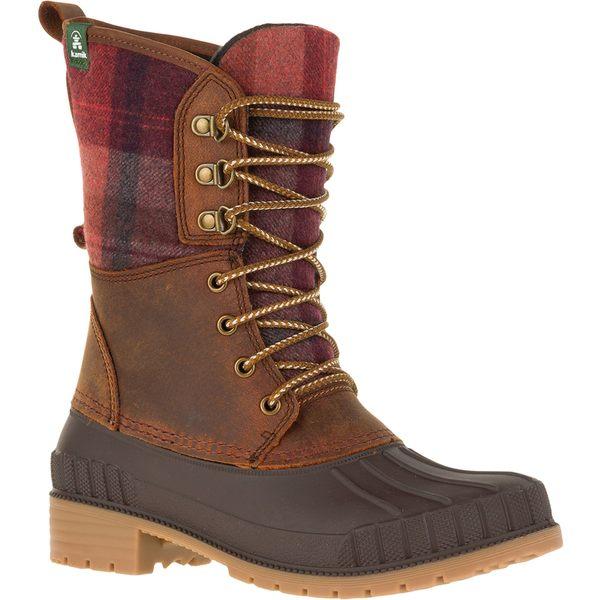 カミック レディース ブーツ&レインブーツ シューズ Kamik Women's Sienna2 200g Waterproof Winter Boots DarkBrown