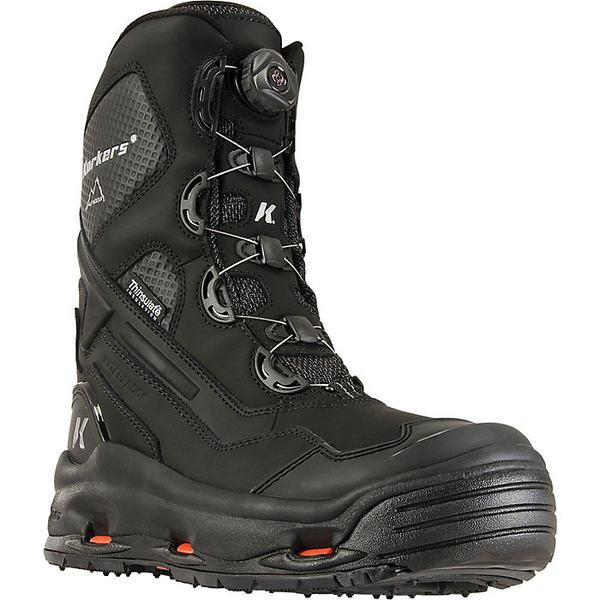 コーカーズ メンズ ブーツ&レインブーツ シューズ Korkers Polar Vortex 600 Boot Black