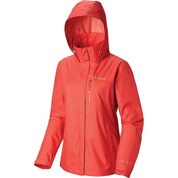 コロンビア レディース ジャケット&ブルゾン アウター Columbia Women's Pouration Jacket Red Coral