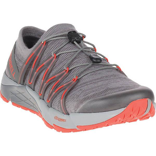メレル メンズ ランニング スポーツ Merrell Men's Bare Access Flex Knit Wool Shoe Dark Grey