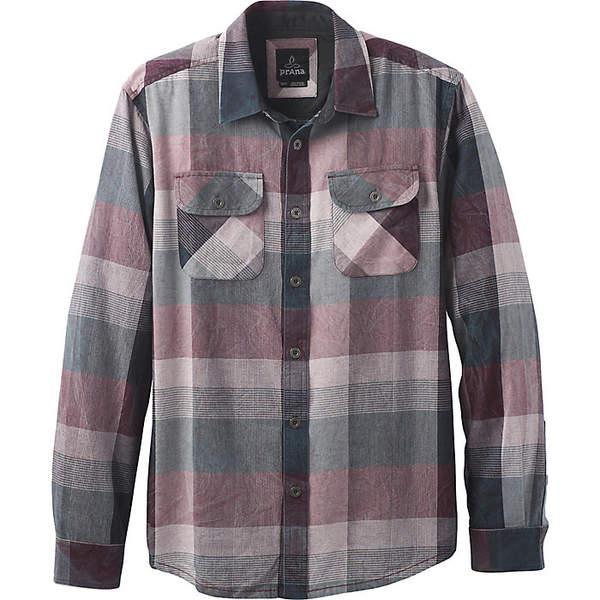プラーナ メンズ シャツ トップス Prana Men's Lybeck LS Shirt Charcoal