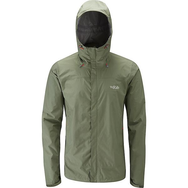 ラブ メンズ ジャケット&ブルゾン アウター Rab Men's Downpour Jacket Field Green