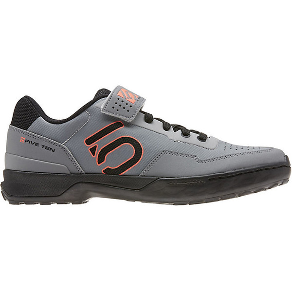 ファイブテン メンズ サイクリング スポーツ Five Ten Men's Kestrel Lace Shoe Black / Solar Red / Grey Two