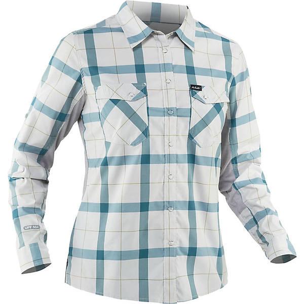 エヌアールエス レディース シャツ トップス NRS Women's Guide LS Shirt Hydro