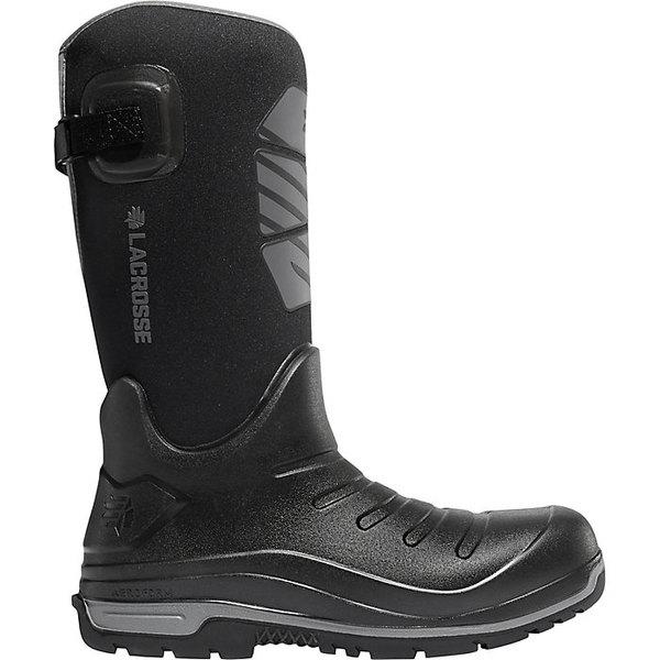ラクロス メンズ ブーツ&レインブーツ シューズ Lacrosse Men's Aero Insulator 14IN 600G Insulated Boot Black
