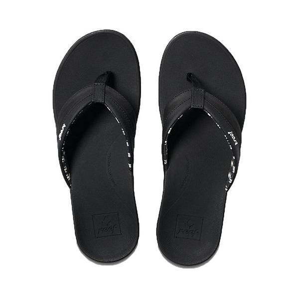 リーフ レディース サンダル シューズ Reef Women's Ortho-Bounce Coast Sandal Black