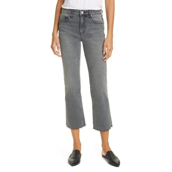 トレーブ レディース カジュアルパンツ ボトムス TRAVE Colette High Waist Crop Flare Jeans (Touch of Grey) Touch Of Grey