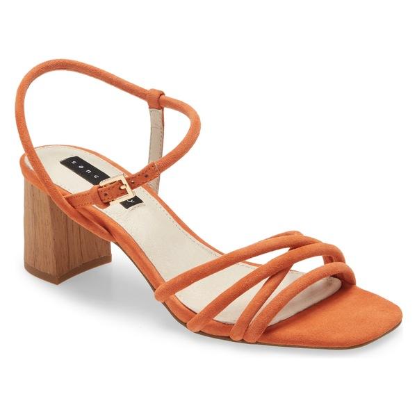 サンクチュアリー レディース サンダル シューズ BREAK SANDAL Tangerine Leather