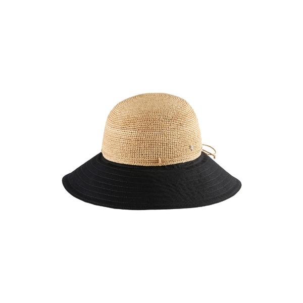 ヘレンカミンスキー レディース 帽子 アクセサリー Helen Kaminski Kalola Foldable Raffia Hat Natural/ Black