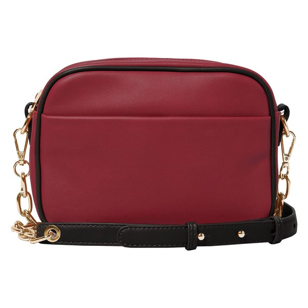 アーバンオリジナルス レディース ハンドバッグ バッグ Urban Originals Mindful Vegan Leather Crossbody Bag Plum/ Black