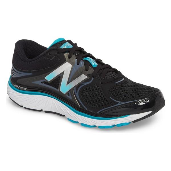 ニューバランス レディース スニーカー シューズ New Balance 940v3 Running Shoe (Women) Black/ Blue