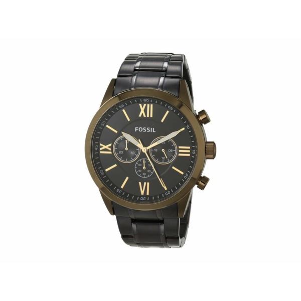 フォッシル メンズ 腕時計 アクセサリー 48 mm Flynn BQ2282 Black