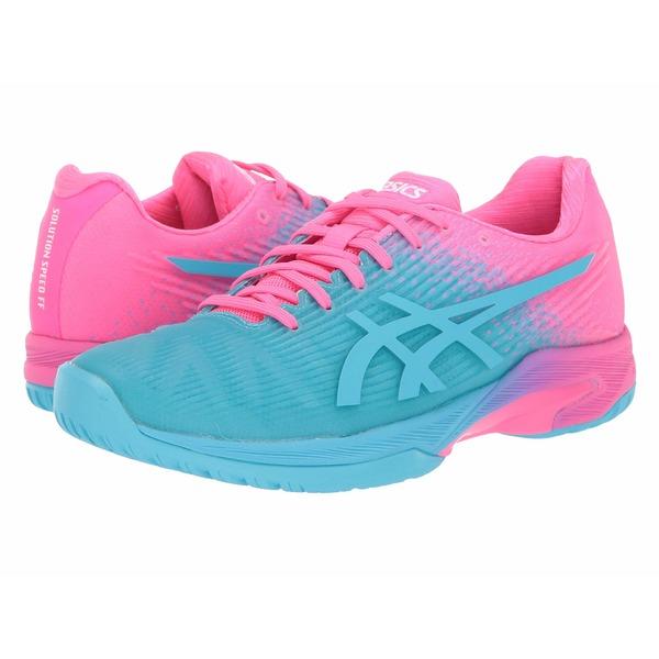 アシックス レディース スニーカー シューズ Solution Speed FF LE Hot Pink/Hot Pink
