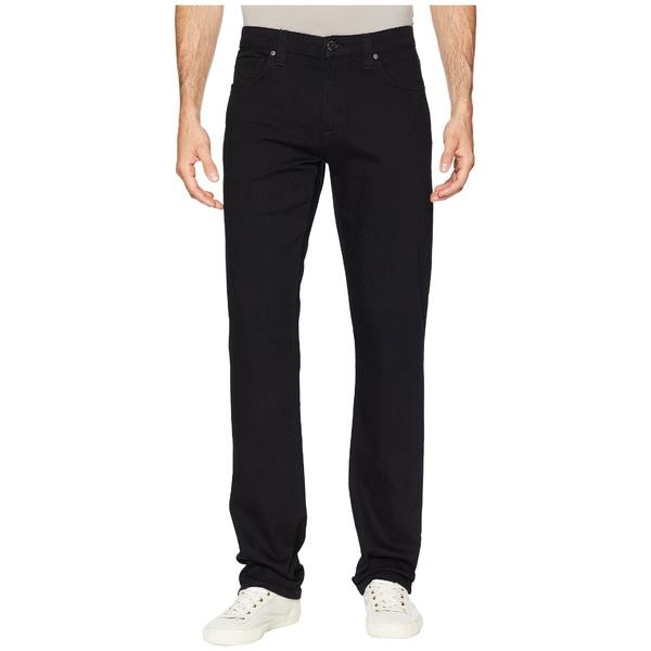 アガーヴィデニム メンズ デニムパンツ ボトムス Classic The Standard Straight Jeans Triple Black