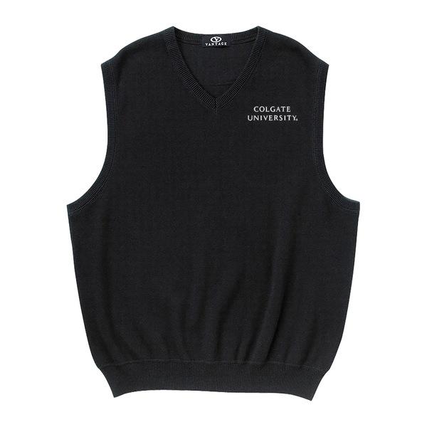 ビンテージアパレル メンズ ジャケット&ブルゾン アウター Colgate Raiders Milano Knit Sweater Vest Black