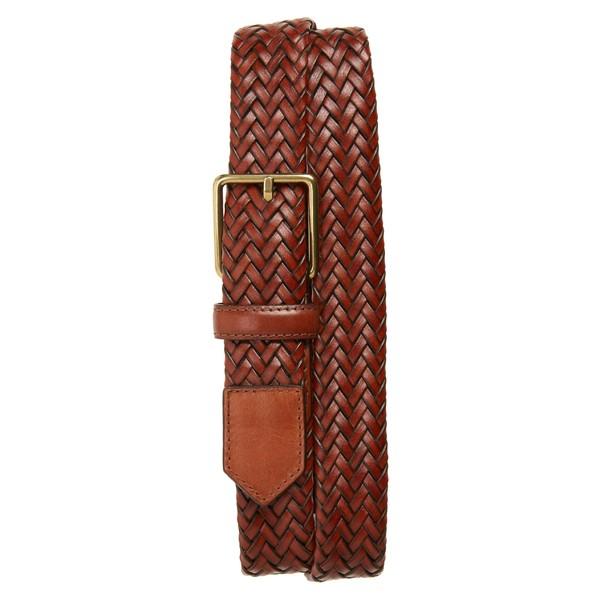 コールハーン メンズ ベルト アクセサリー Cole Haan Woven Leather Belt Woodbury