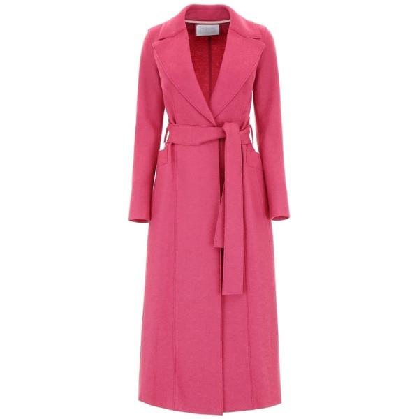 ハリスワーフロンドン レディース ジャケット&ブルゾン アウター Harris Wharf London Long Coat With Belt -