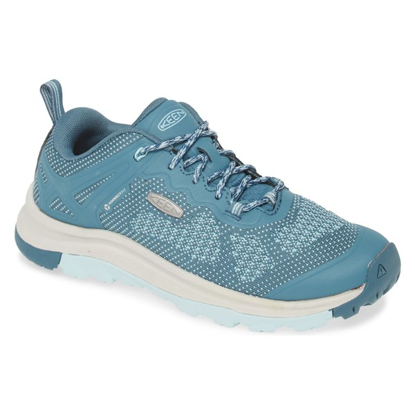 キーン レディース スニーカー シューズ Keen Terradora II Vent Hiking Shoe (Women) Tapestry/ Blue Faux Leather