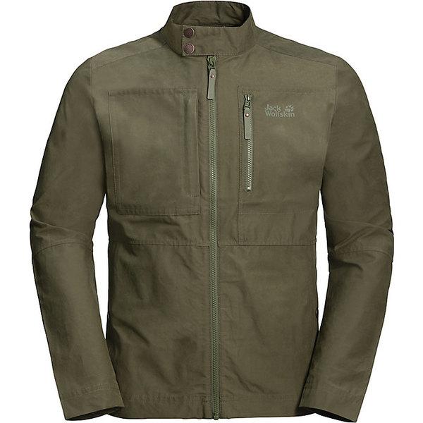 ジャックウルフスキン メンズ ジャケット&ブルゾン アウター Jack Wolfskin Men's Port Lincoln Jacket Woodland Green
