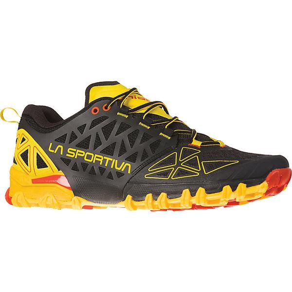 ラスポルティバ メンズ ランニング スポーツ La Sportiva Men's Bushido II Shoe Black / Yellow