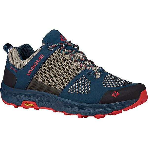バスク レディース ハイキング スポーツ Vasque Women's Breeze LT Low GTX Shoe Majolica Blue/Red Clay