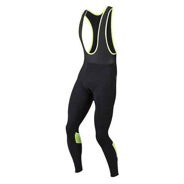 パールイズミ メンズ サイクリング スポーツ Pearl Izumi Men's Pursuit Thermal Cycling Bib Tight Black/Screaming Yellow